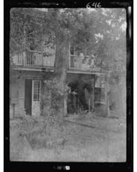 Service Wing of a House, New Orleans, Ph... by Genthe, Arnold