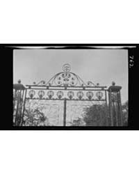 Wrought Iron Gate, New Orleans or Charle... by Genthe, Arnold