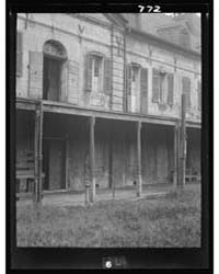 Rear of the Ursuline Convent, New Orlean... by Genthe, Arnold