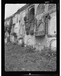 Wall Tombs of the Old St. Louis Cemetery... by Genthe, Arnold