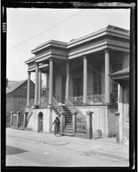 Colonial Residence in the Vieux Carré, N... by Genthe, Arnold