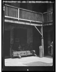 Courtyard, New Orleans, Photograph 7A031... by Genthe, Arnold