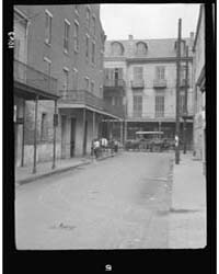 View Down a Street, New Orleans, Photogr... by Genthe, Arnold