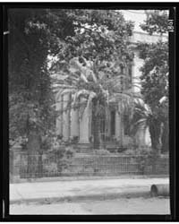 View from Across Street of a Two-story H... by Genthe, Arnold