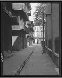 Pirate Alley, New Orleans, Photograph 7A... by Genthe, Arnold