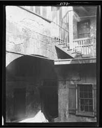 Courtyard, New Orleans, Photograph 7A033... by Genthe, Arnold