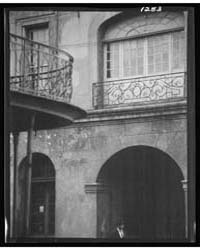 Cabildo Arch and Window, New Orleans, Ph... by Genthe, Arnold