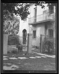 Two-story House, New Orleans or Charlest... by Genthe, Arnold