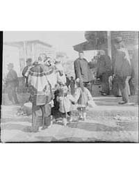 Women and Children Crossing a Street, Ch... by Genthe, Arnold