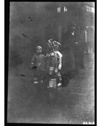 Children Walking, Chinatown, San Francis... by Genthe, Arnold