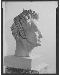 Portrait Sculpture of Arnold Genthe, Pho... by Genthe, Arnold