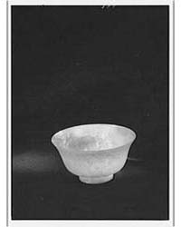 Carved Cup or Bowl That Belonged to Arno... by Genthe, Arnold