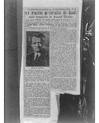 Clipping of an Article on Arnold Genthe ... by Genthe, Arnold