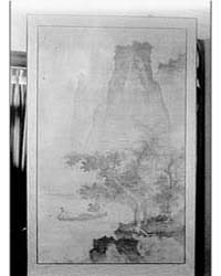 Screen Painting That Belonged to Arnold ... by Genthe, Arnold
