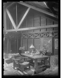 Interior of Arnold Genthe's Bungalow in ... by Genthe, Arnold