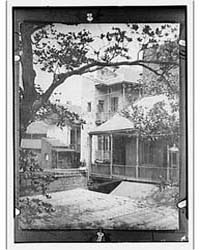 Slave Quarters and Magnolia (Patio Royal... by Genthe, Arnold