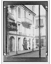 Sieur George's House on Royal Street, Ne... by Genthe, Arnold