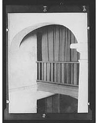 Arch and Column in the Old Absinthe Hous... by Genthe, Arnold