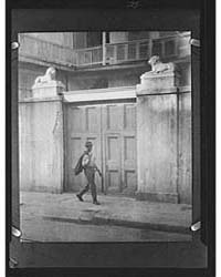 Lion Gate, New Orleans, Photograph 7A098... by Genthe, Arnold