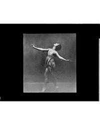 Anna Duncan Dancing, Photograph 7A09886R by Genthe, Arnold