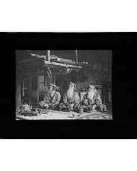 Ainu Chiefs at Piratori, Photograph 7A10... by Genthe, Arnold