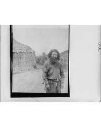 Ainu Man Standing Outside, Photograph 7A... by Genthe, Arnold