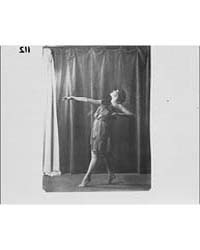 Hilda Beyer Dancing, Photograph 7A10327R by Genthe, Arnold