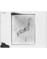 Map of Japan, Photograph 7A10336R by Genthe, Arnold