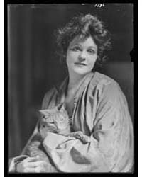 Pell, Miss, with Buzzer the Cat, Portrai... by Genthe, Arnold