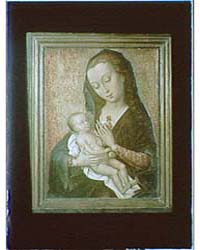 Photograph of a Painting of the Madonna ... by Genthe, Arnold