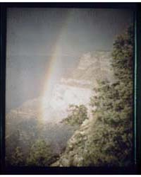 Rainbow at the Grand Canyon, Photograph ... by Genthe, Arnold