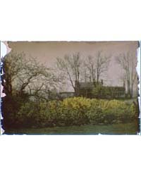 House Behind Bare Trees, Photograph 7A17... by Genthe, Arnold