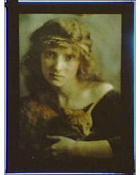 Woman Wearing a Headband Holding Buzzer ... by Genthe, Arnold