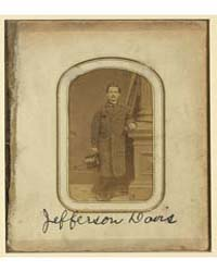 Jefferson Davis, Wm. S. Pendleton, Photo... by Pendleton, William S.