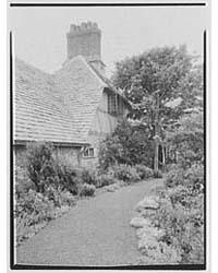 John Russell Pope, Residence in Newport,... by Schleisner, Gottscho