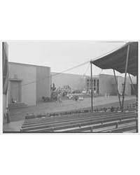 World's Fair, Railroad Building. Pageant... by Schleisner, Gottscho