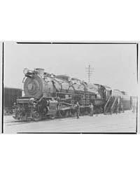 World's Fair, Railroad Exhibit Locomotiv... by Schleisner, Gottscho
