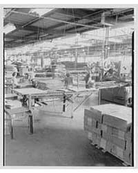 Mengel Company, Fulton, New York. Interi... by Schleisner, Gottscho
