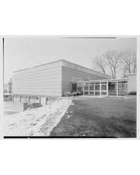 Burdick School, Forest Street, Stamford,... by Schleisner, Gottscho