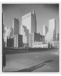 New York City Views. Midtown Group from ... by Schleisner, Gottscho