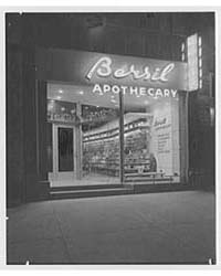 Bursil Apothecary, Business at 175 W. 72... by Schleisner, Gottscho