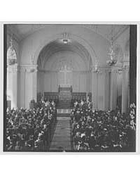 Brick Church. Dedication Service, Dr. Wo... by Schleisner, Gottscho