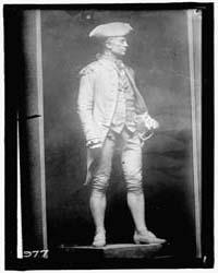 Jones, John Paul. Statue on Monument, Fo... by Harris & Ewing