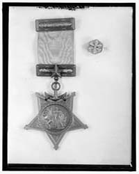 Medals, Decorations, Etc. Medal of Honor... by Harris & Ewing