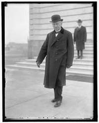 Burton, Theodore. Senator, Photograph Nu... by Harris & Ewing