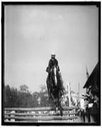 Hazen, Melvin C. Horse Show; Hurdling, P... by Harris & Ewing