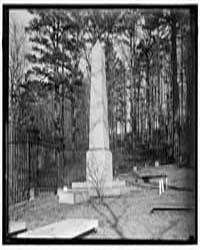 Monticello. Thomas Jefferson's Grave, Ph... by Harris & Ewing