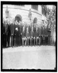 Labor. Labor Reps. at White House. Seate... by Harris & Ewing
