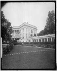 White House. South Front, Photograph Num... by Harris & Ewing