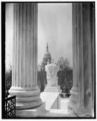 Capitol from Supreme Court, 3/37, Photog... by Harris & Ewing